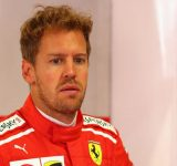 """""""We used a new very aggressive setup""""- Sebastian Vettel on what caused his spin on Friday"""