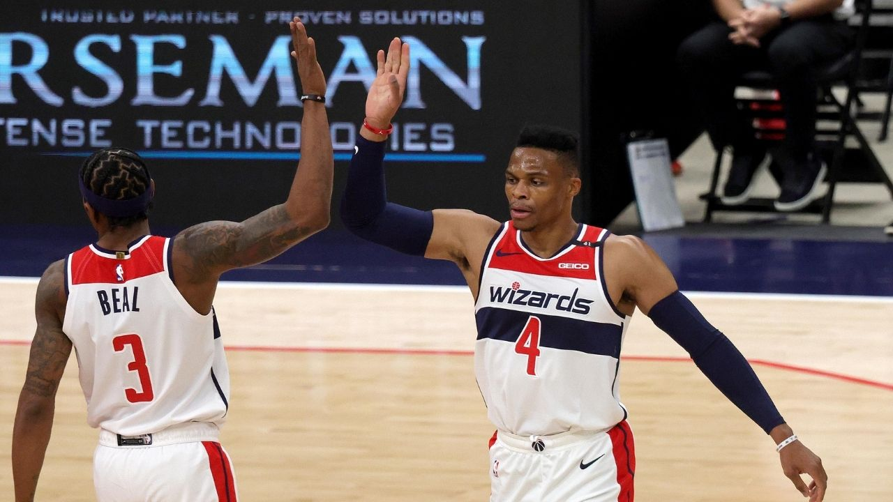 'Russell Westbrook is an active teacher': Newly acquired Wizards guard takes on leadership role with young teammates