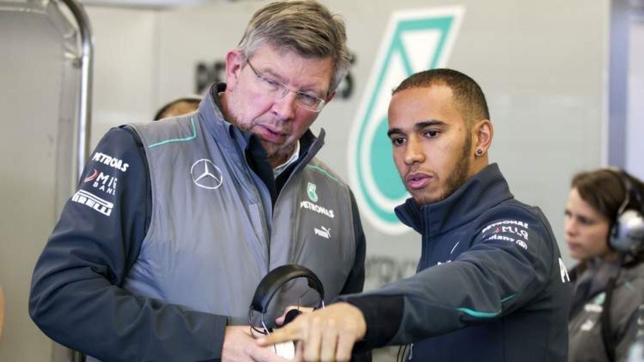 """""""He has set a new benchmark""""- Ross Brawn thinks Lewis Hamilton is more than his car"""