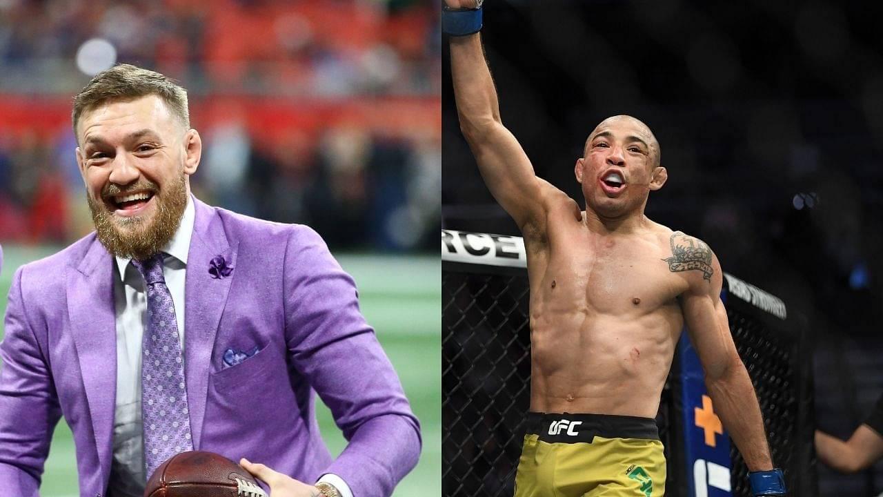 Did Conor McGregor predict Jose Aldo's Victory at UFC Vegas 17?