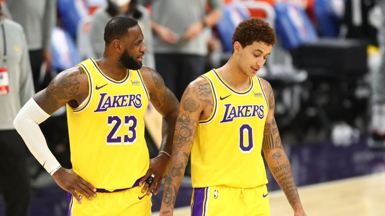 """""""The game is slowing down for Kyle Kuzma"""": LeBron James raves about his Lakers teammate's exceptional play against Minnesota Timberwolves"""