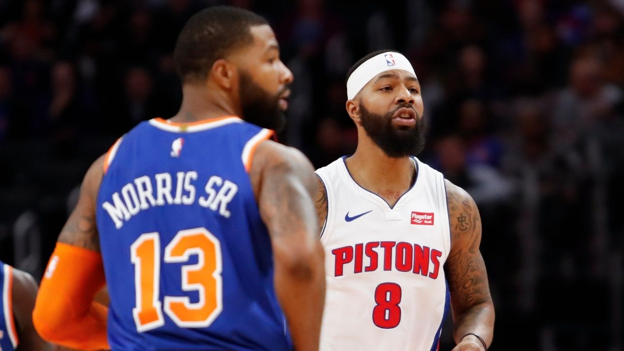 'Lakers won Mickey Mouse rings': Clippers' Marcus Morris records his brother Markieff Morris during Lakers ring ceremony