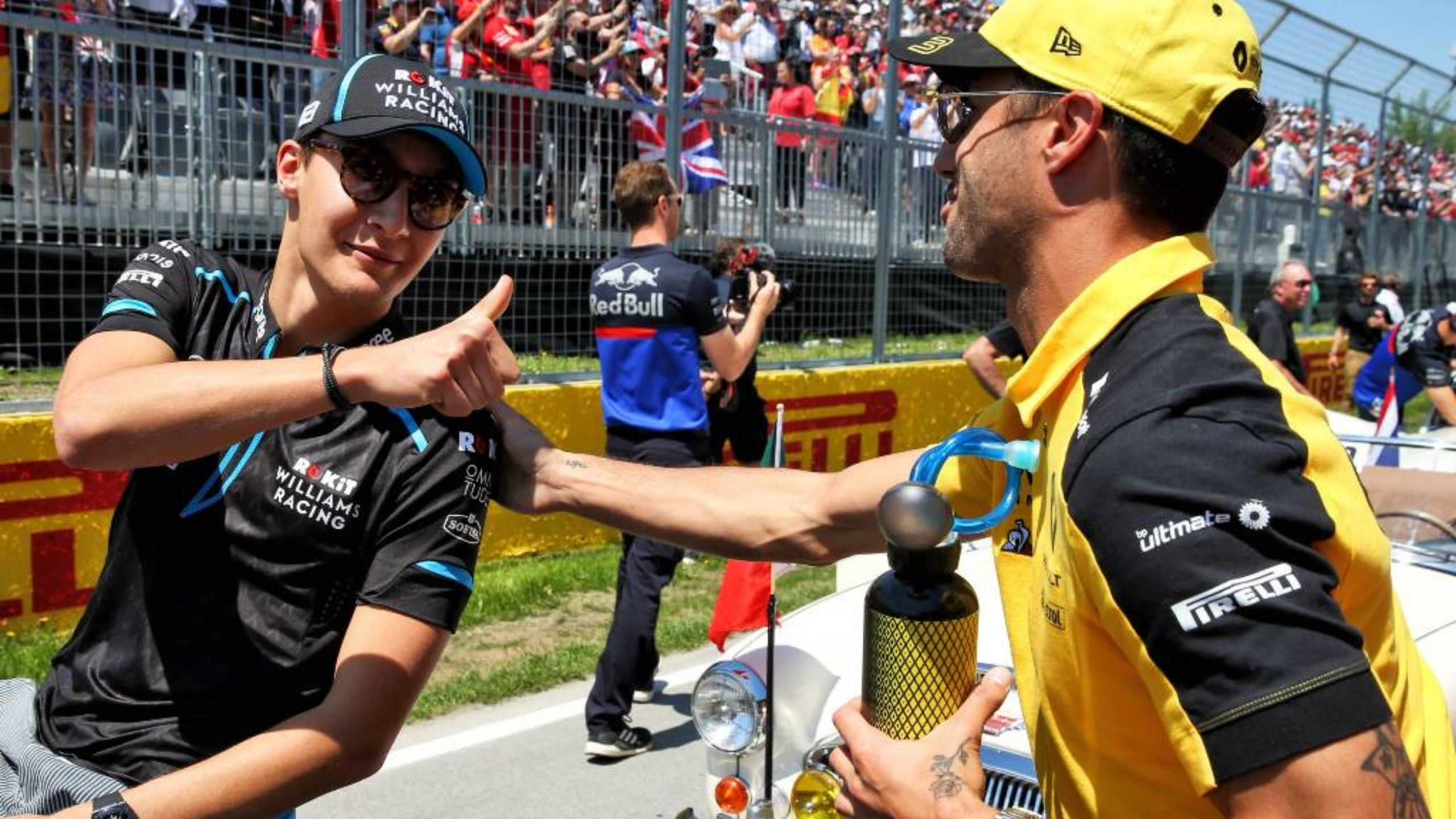 """""""He's one of those younger kids that I think has now proven himself"""" - Daniel Ricciardo mightily impressed with George Russell and Pierre Gasly."""