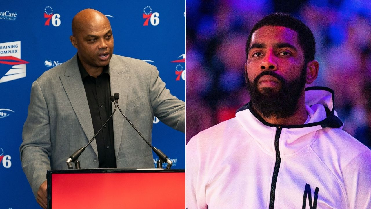 'I do think there is something wrong with Kyrie Irving': Charles Barkley lambasts Nets star for his media silence