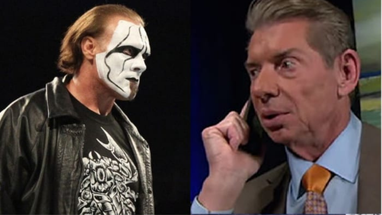 Sting reveals Vince McMahon's reaction when he rejected WWE