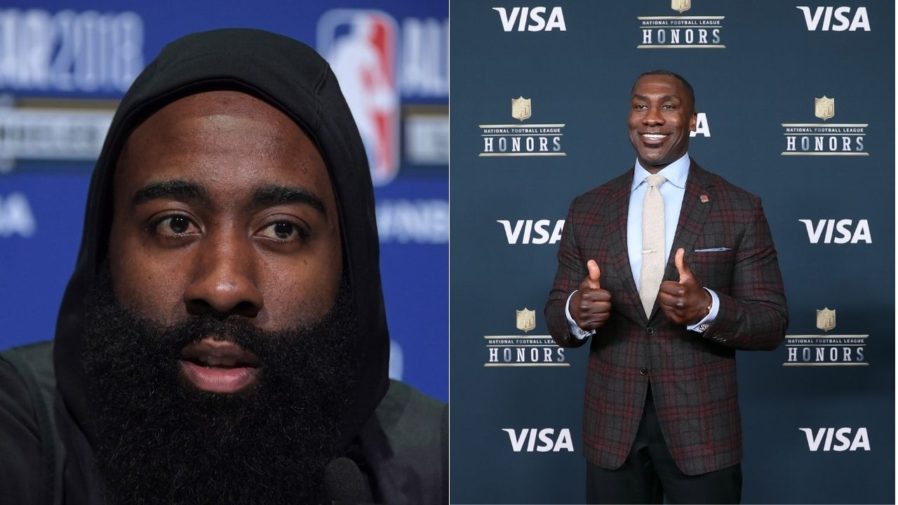 'James Harden would chose Atlanta over Boston because of the strip clubs': Shannon Sharpe hilariously guesses Rockets star's preferred trade destinations