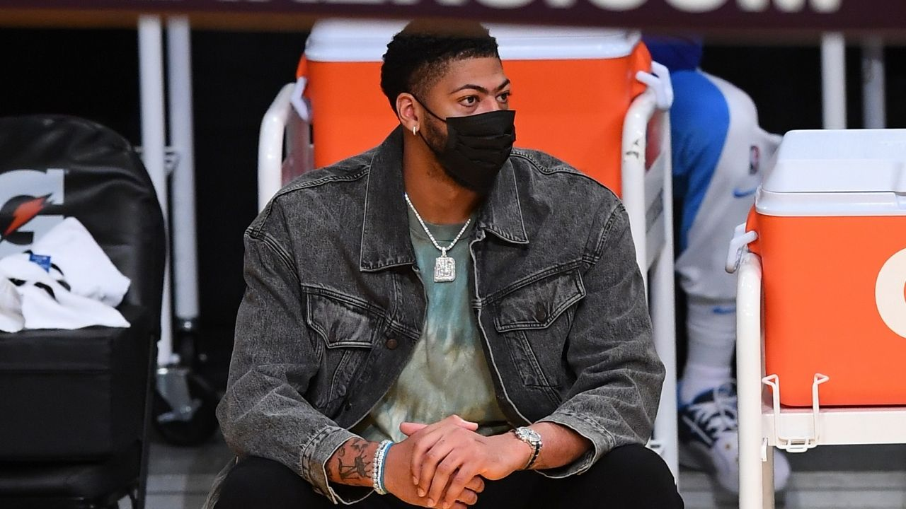 Is Anthony Davis playing tonight vs Trail Blazers? Lakers release calf injury report to face Damian Lillard and co