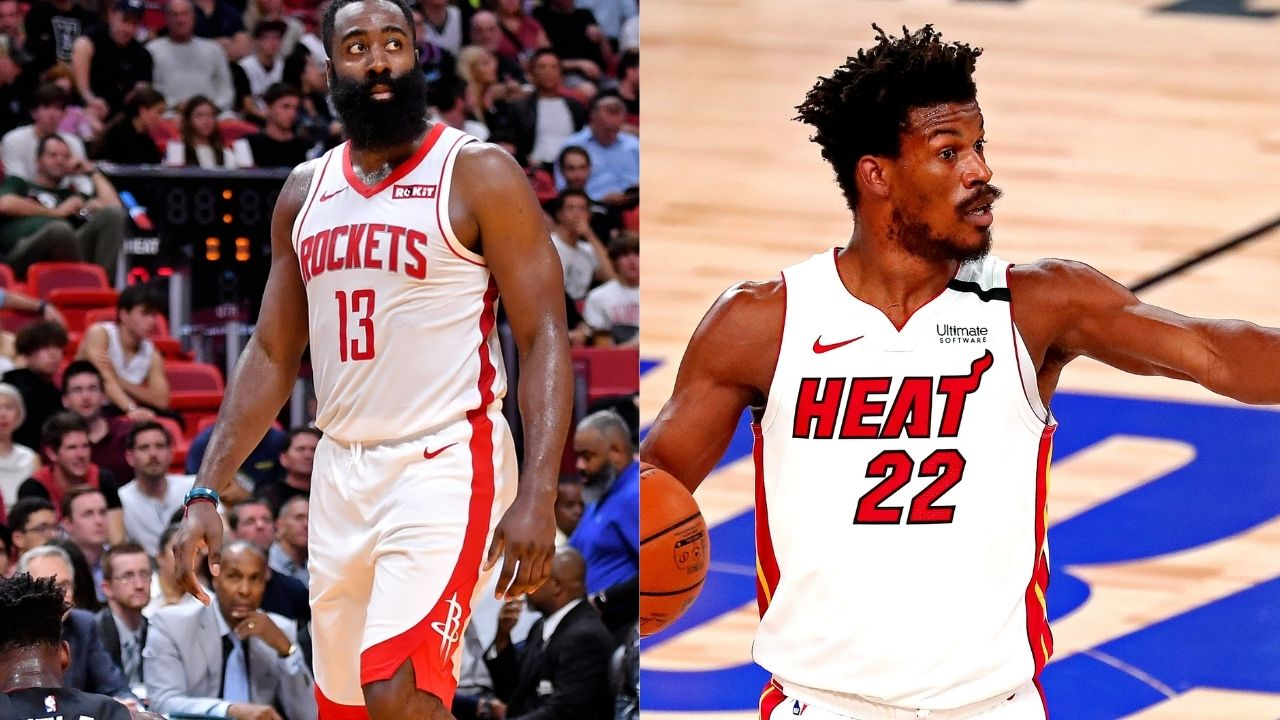 'Zero influence': Jimmy Butler responds to James Harden's possible trade to Miami Heat from the Rockets