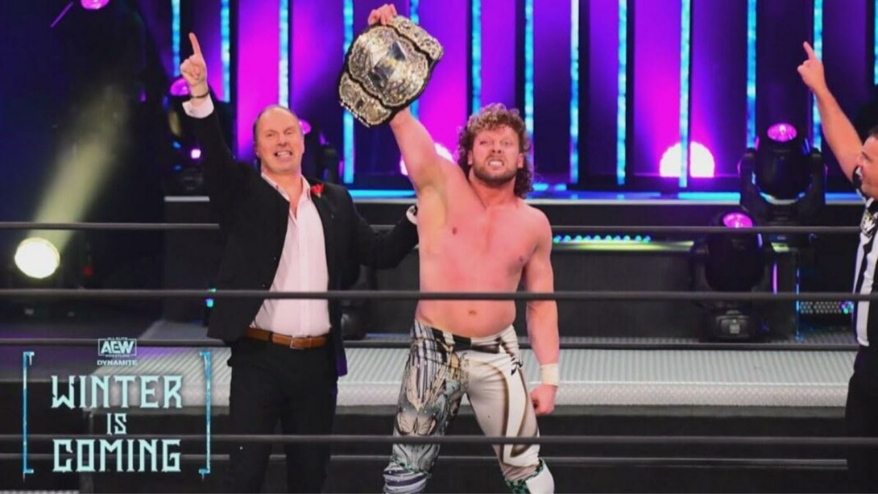 Kenny Omega responds to a fan who says he shouldn't be AEW Champion