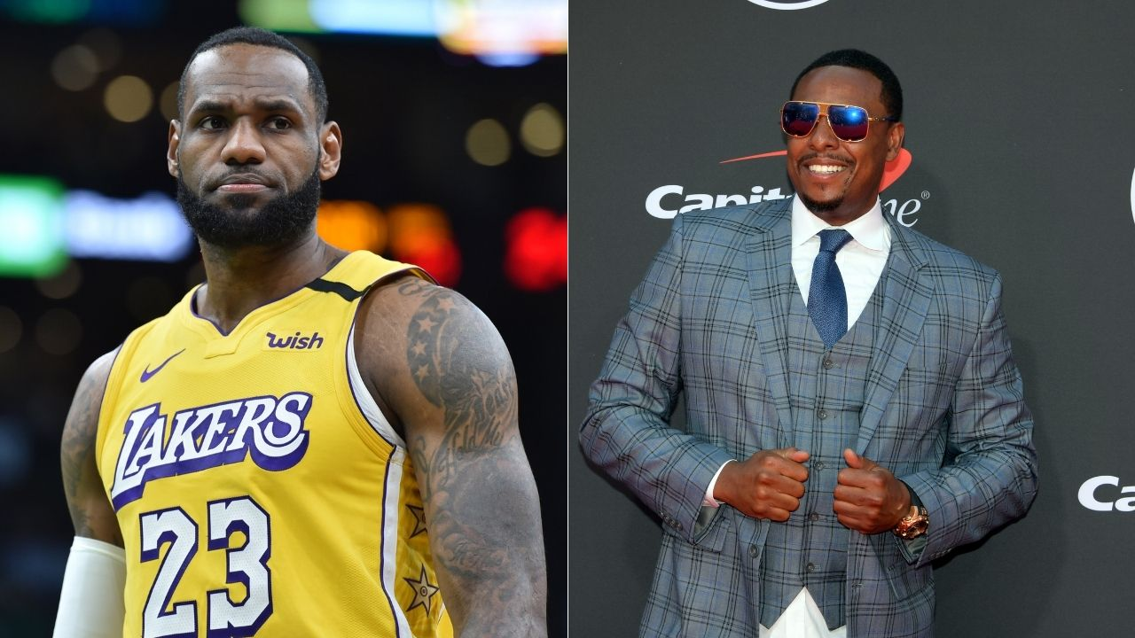 'When Lebron James is the best player why is he not the best point guard?': Paul Pierce questions conventional wisdom regarding Lakers star