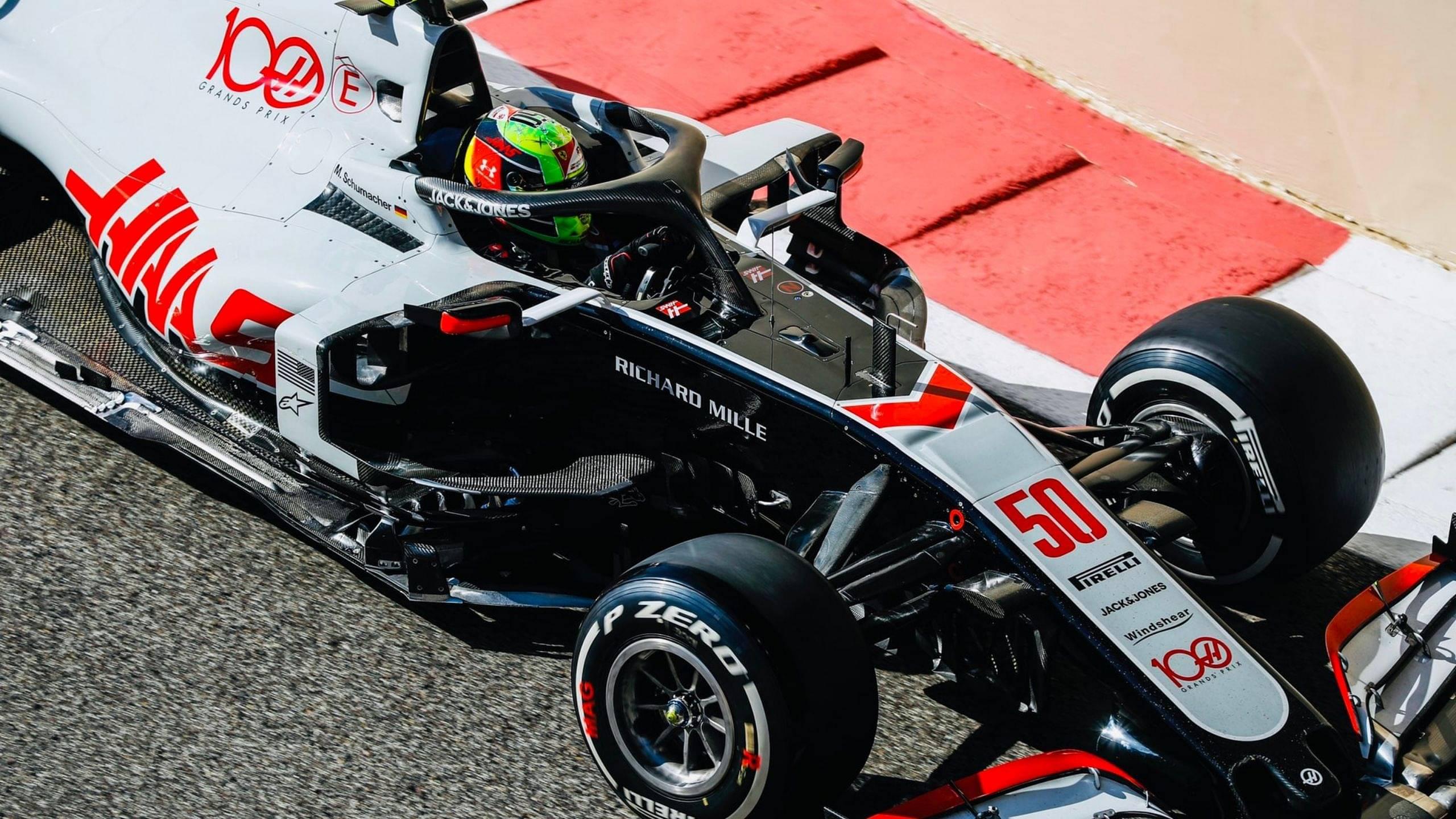 Haas 'honoured' as Mick Schumacher makes F1 practice debut