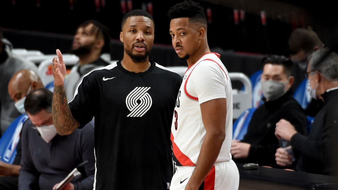 """""""Clippers and I don't have a rivalry"""": Damian Lillard responds to rumors about having beef with Paul George and Patrick Beverley"""
