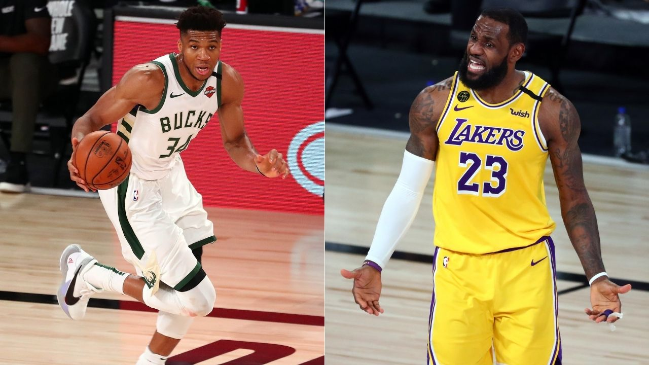 'I can't relate to Giannis Antetokounmpo's situation at all': Lakers' LeBron James blames Cavaliers front office for signing with Heat in 2010