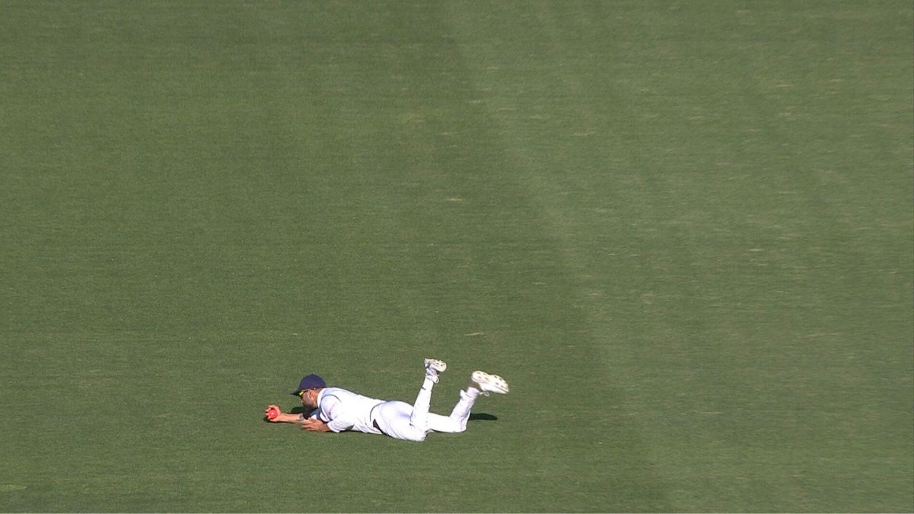 Virat Kohli catch today: Watch Indian captain takes magnificent diving catch to dismiss Cameron Green in Adelaide Test