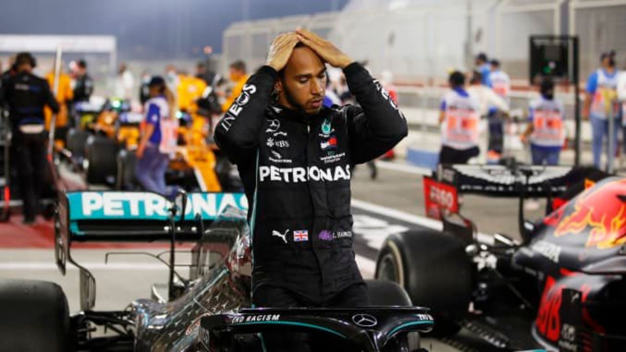 """""""That was a really hard race for me physically""""- Lewis Hamilton mentions COVID-19 fatigue for his Abu Dhabi race defeat"""