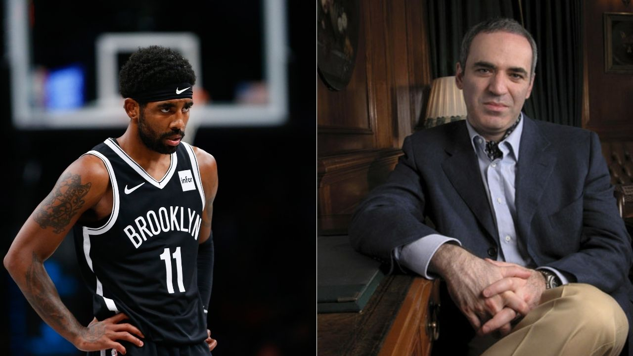 'It's when pawns start answering that you have a problem, Kyrie Irving': Garry Kasparov slams Nets star for media silence