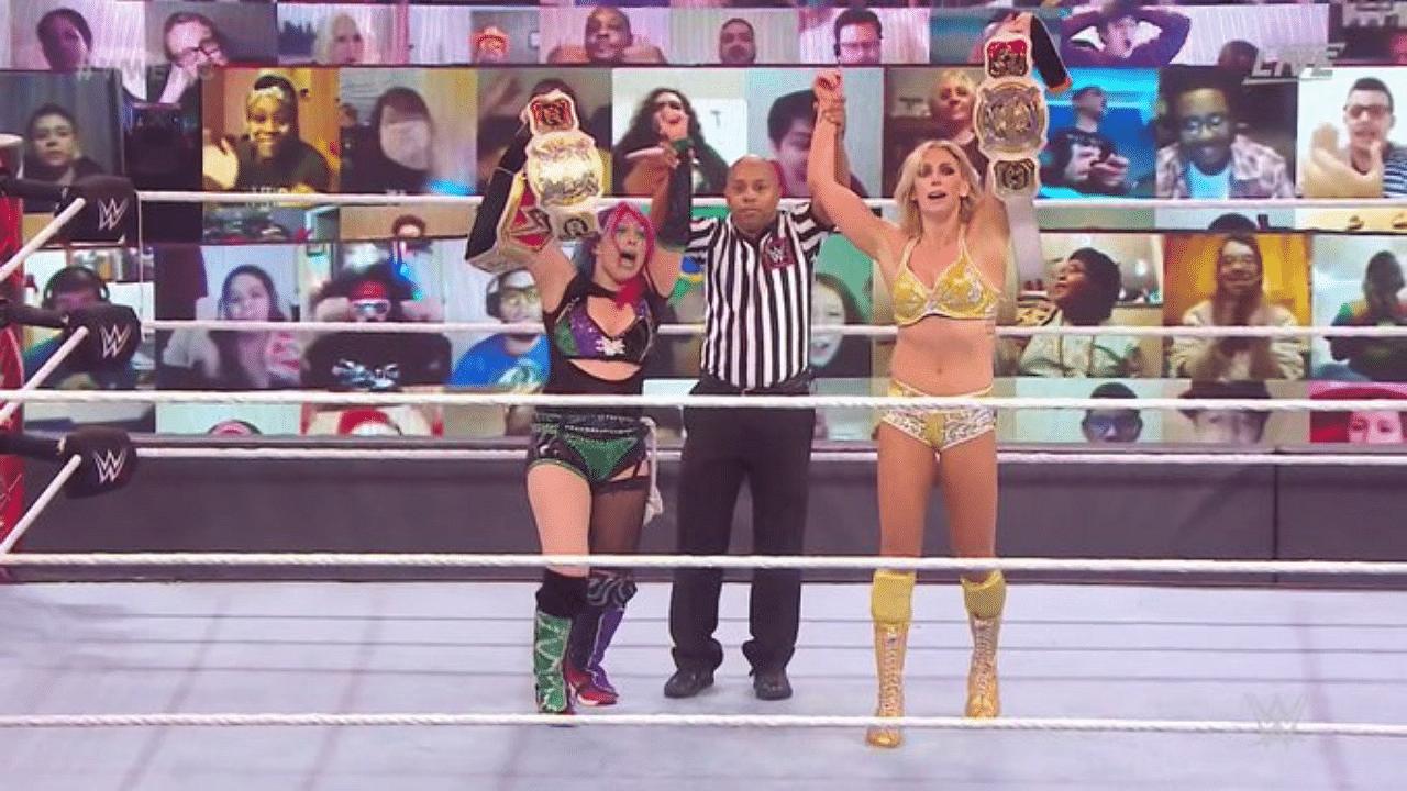 Charlotte Flair becomes 4th Women's Grand Slam Champion WWE TLC