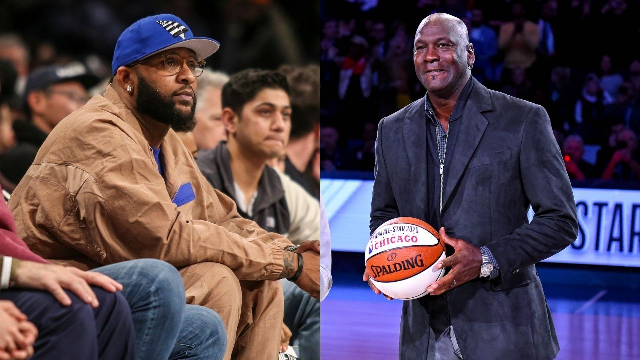 """""""Michael Jordan, because he talks so much s**t"""": CC Sabathia reveals why he would strike out MJ rather than LeBron James"""