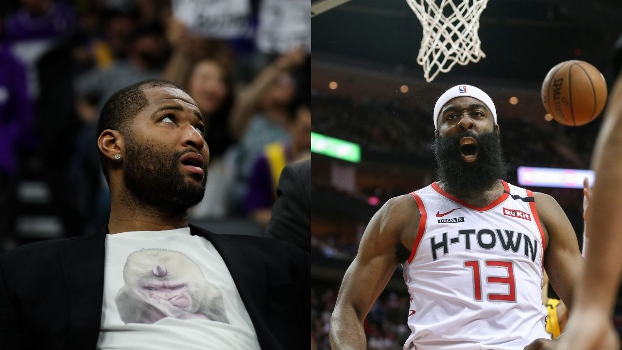 """""""I think it was a good showing for whoever's watching"""": DeMarcus Cousins makes recruiting pitch to keep Rockets star James Harden"""