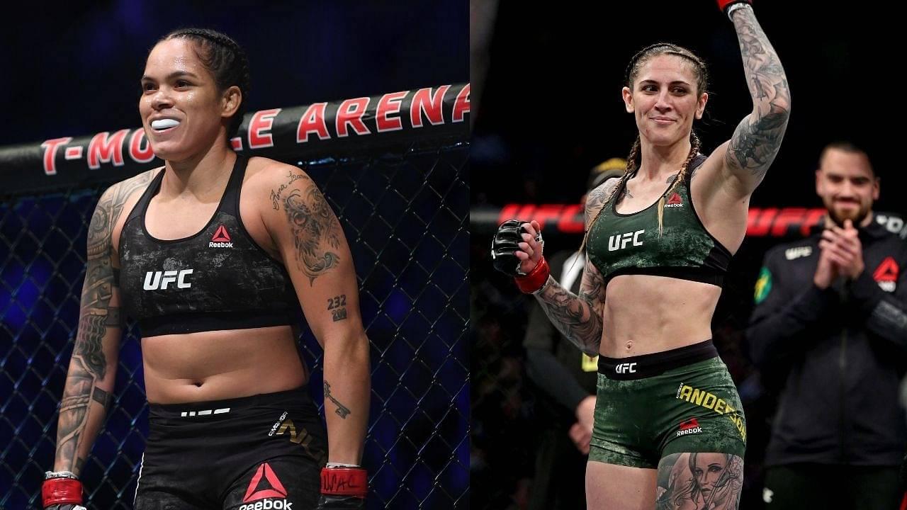 UFC News: Amanda Nunes Vs. Megan Anderson Rebooked For March 6, 2021