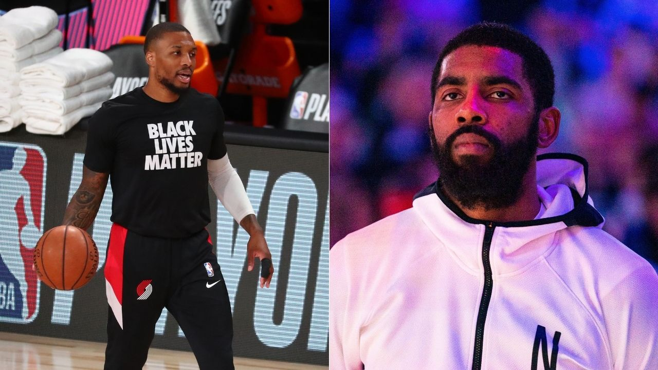 'Ky bra, do your media sessions': Blazers star Damian Lillard asks Kyrie Irving to interact with press during Instagram session