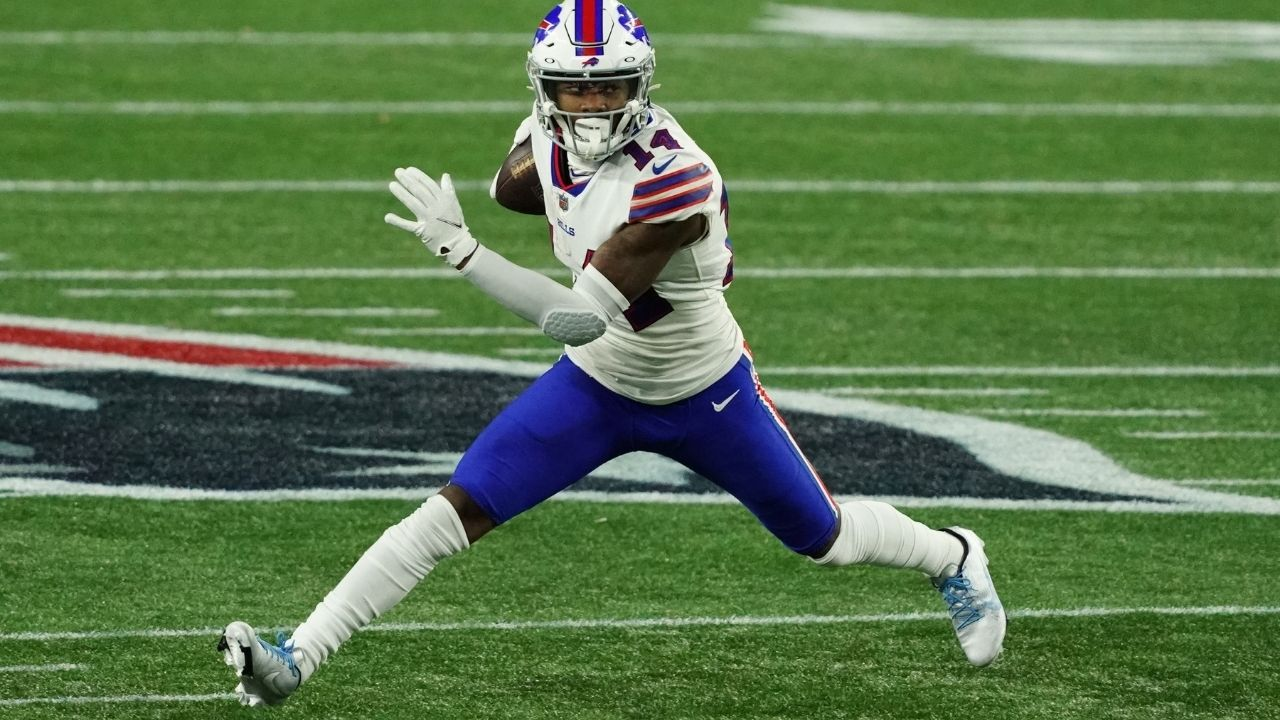 Stefon Diggs Leads NFL In Receiving Yards & Catches, On Pace to Make Bills History