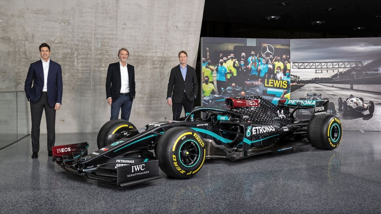 Ineos acquires one-third shares of Mercedes F1