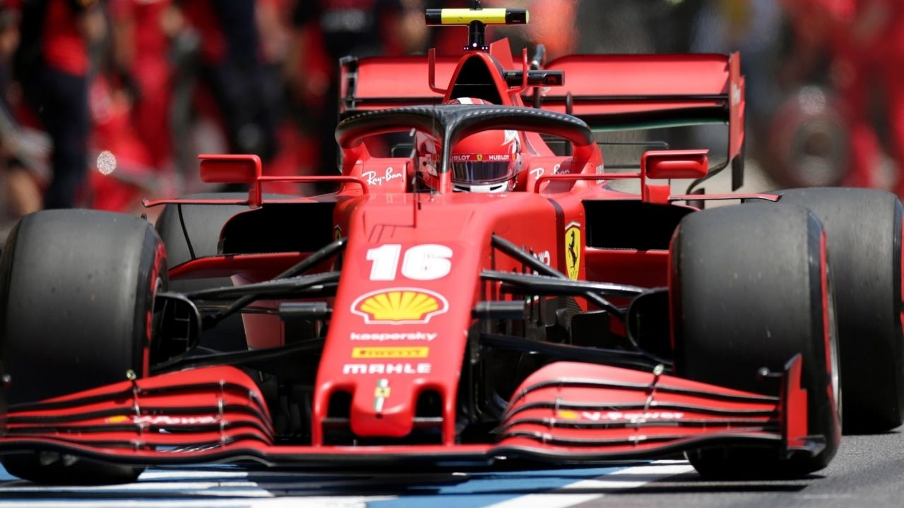 Charles Leclerc receives 3 place grid penalty for Abu Dhabi Grand Prix
