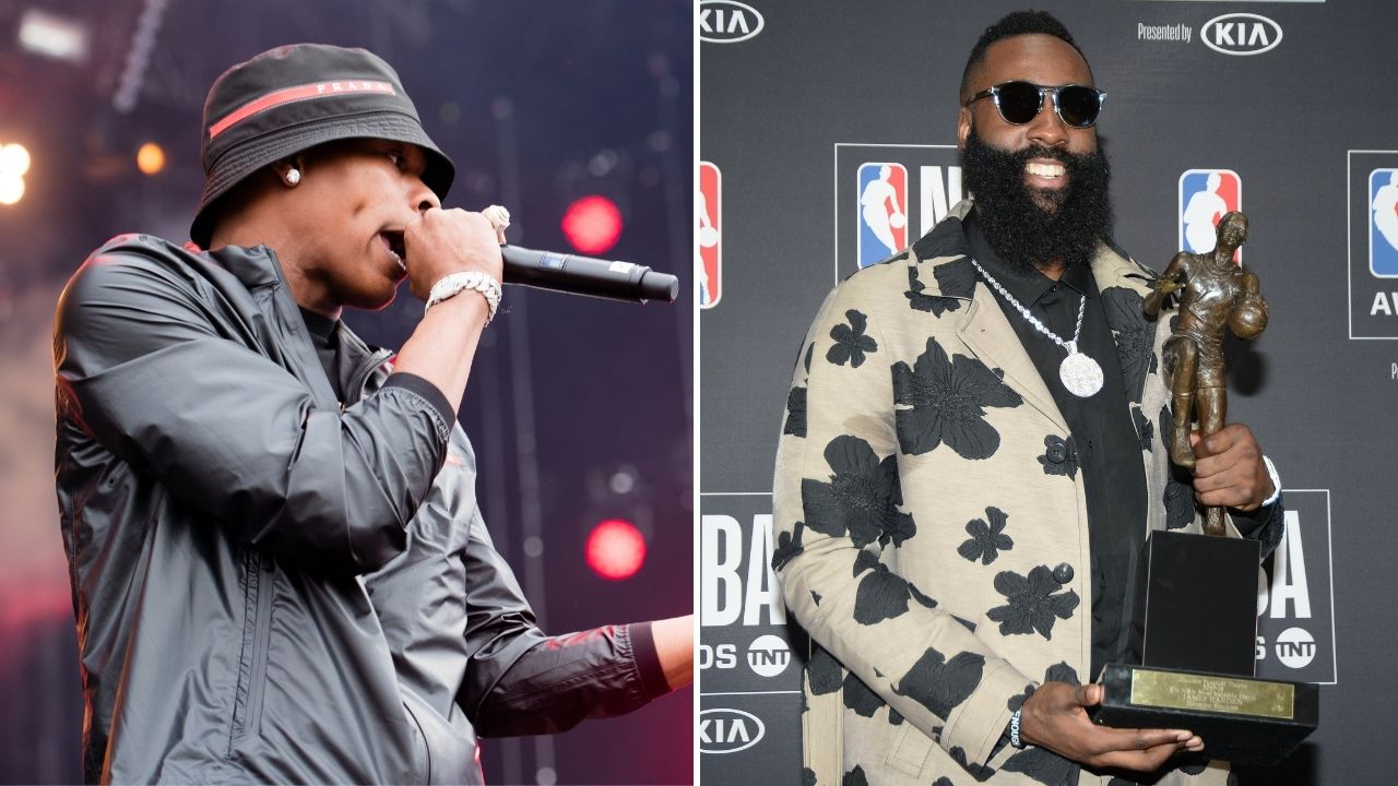 'James Harden partied with Lil Baby': Rockets superstar missed training camp to attend Atlanta rapper's birthday bash