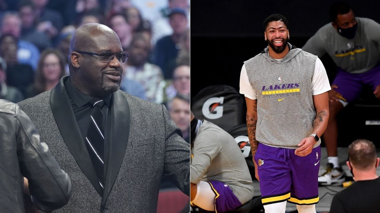 'Anthony Davis is not a big man': Lakers legend Shaquille O'Neal opines that AD is a power forward, not a center