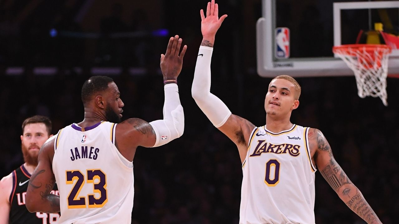 'Kyle Kuzma will take a big leap next season': Lakers star LeBron James reposes faith in... - The Sportsrush