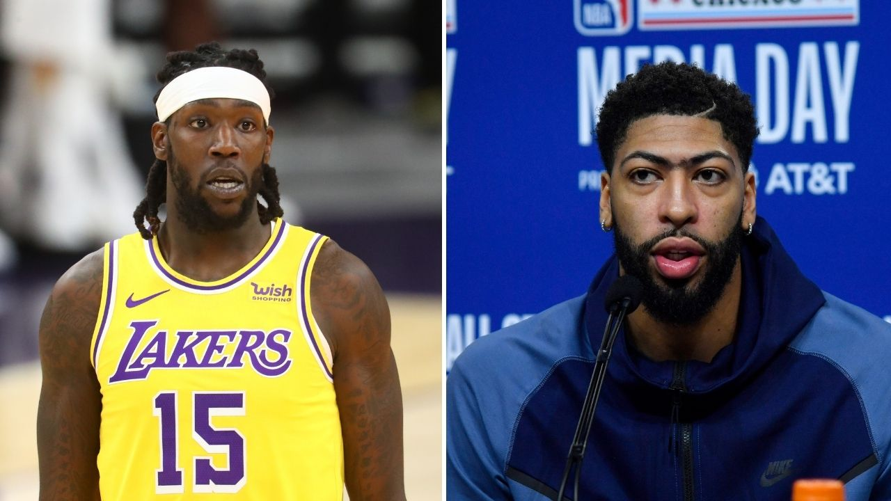 """""""Get a closeup on these Montrezl Harrell shoes"""": Anthony Davis with some top banter ahead of Lakers vs Mavericks on Christmas Day"""