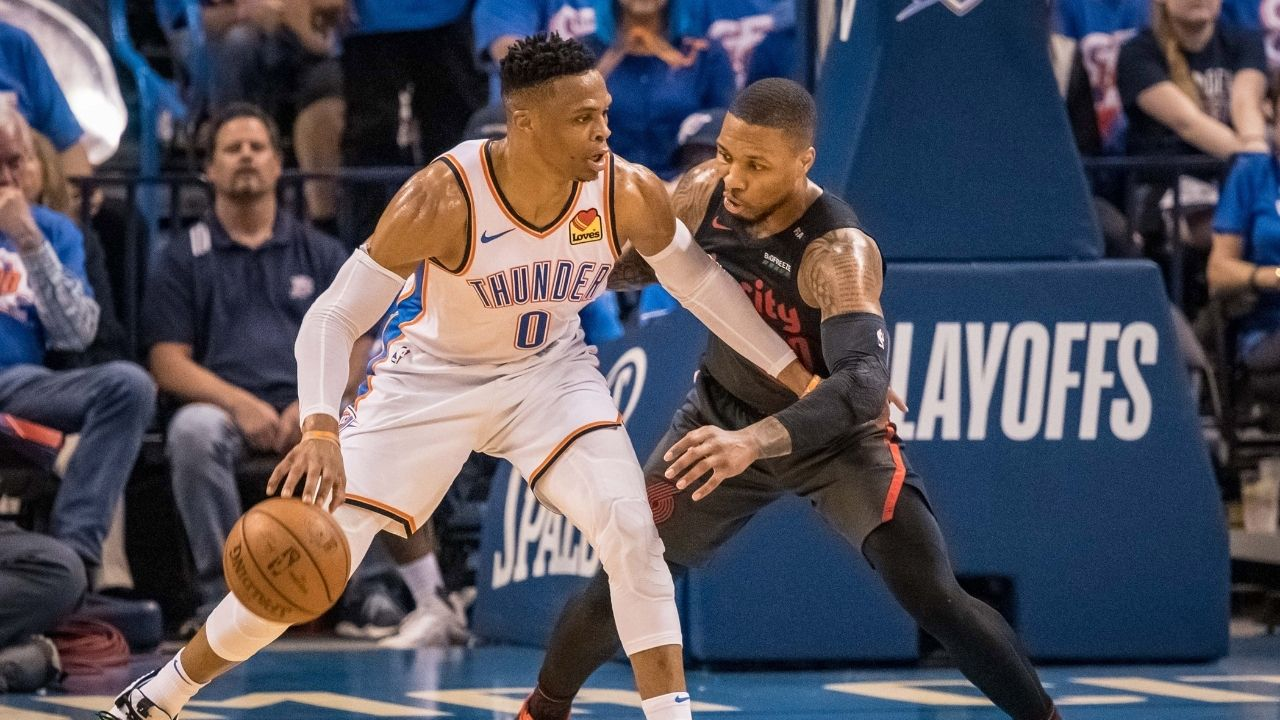 """""""Russell Westbrook is my arch nemesis, we have a go at each other"""": Damian Lillard calls Wizards star the arch nemesis of his NBA career"""
