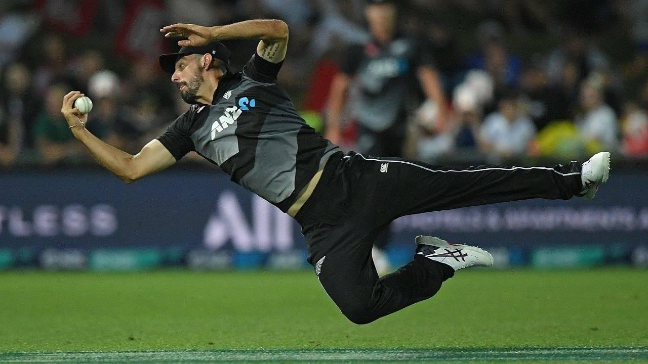 Daryl Mitchell catch: Watch New Zealand player grabs superlative catch to dismiss Haider Ali in Napier T20I
