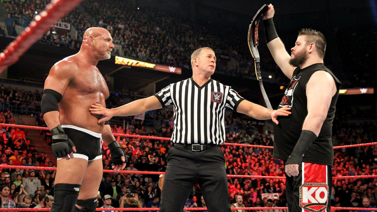 Kevin Owens says Goldberg isn't in the WWE to have quality matches
