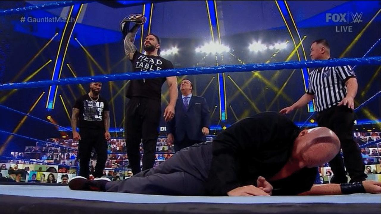 Roman Reigns vs Adam Pearce scheduled at Royal Rumble WWE Universal Championship