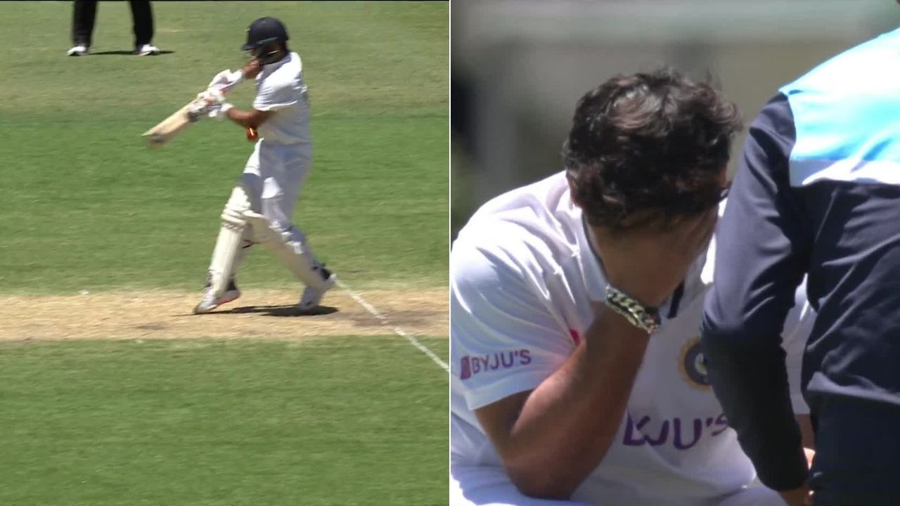 Rishabh Pant injury: Watch Pant gets hit on the elbow after unsuccessful attempt to pull Pat Cummins in Sydney Test
