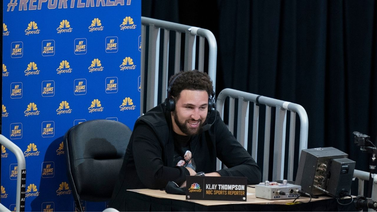 """""""Just be yourself. Be patient because it's not a sprint, it's a marathon"""": Klay Thompson casually gives fans at Chipotle pretty good advice"""
