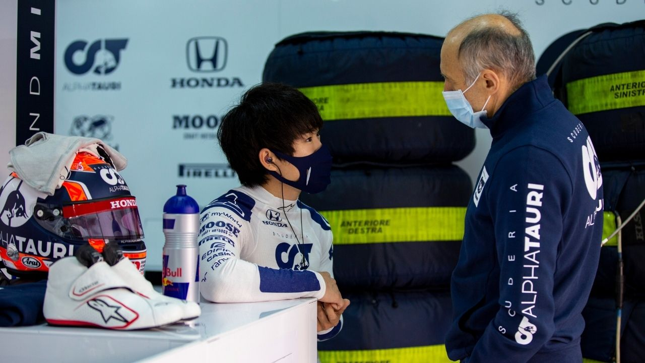 """""""The first year for a newcomer in Formula 1 will be very tough""""- Franz Tost predicts difficult start for F1 rookie Yuki Tsunoda"""