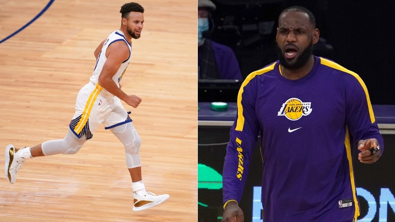 """""""If I'm overrated, what does that make LeBron James?"""": Warriors' Steph Curry explains why his success against Lakers star legitimizes their route to it"""