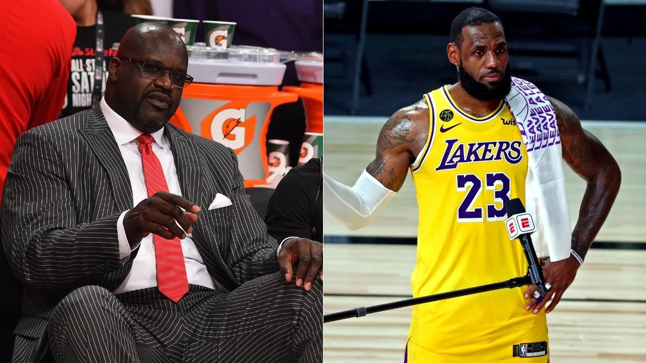 """""""LeBron James and Kevin Durant ridicule Shaq"""": NBA superstars take aim at Lakers legend Shaquille O'Neal for Donovan Mitchell comments, say he should enjoy retirement"""