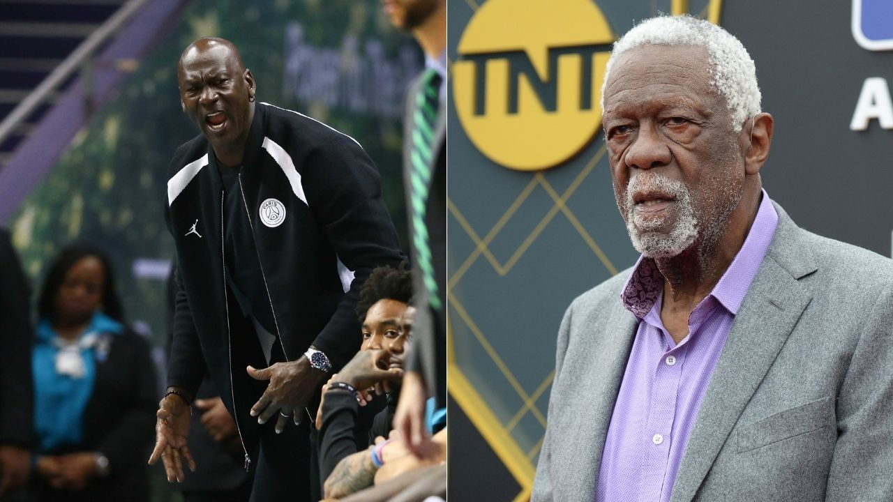 """""""Michael Jordan, you're playing in an easier era"""": When Bill Russell told Bulls legend to his face that he had to compete harder for his NBA titles"""