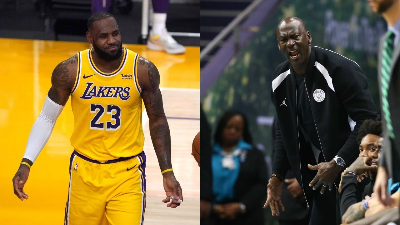 """""""Michael Jordan never faced a superteam like LeBron James"""": NBA fans react to James Harden trade, suggest that Lakers star will be the GOAT if they beat the Nets"""