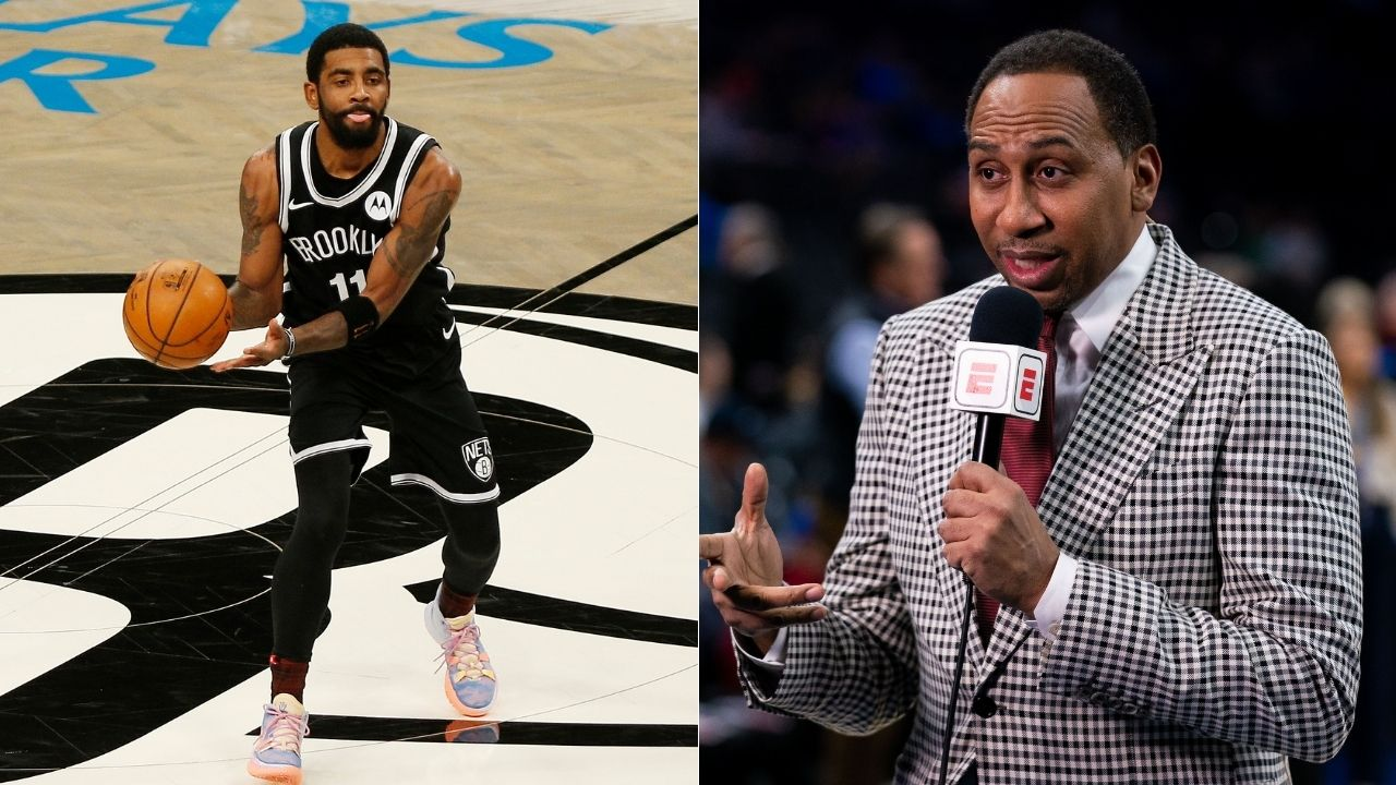 """""""Kyrie Irving should announce his retirement today"""": Stephen A Smith rips into Nets star for 'going off the grid', wants him to stop playing basketball"""