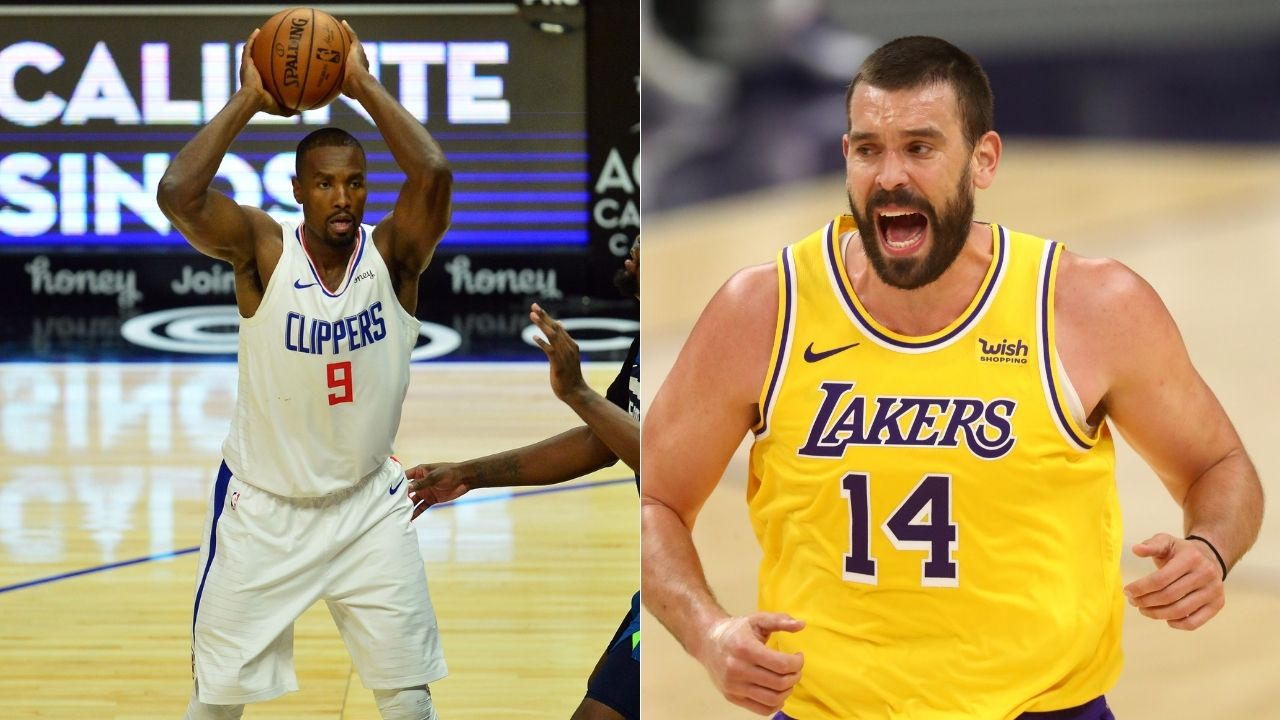 """Serge Ibaka resents Marc Gasol"": NBA reporter reveals how Raptors tried to lowball Clippers center to retain the Lakers big man"