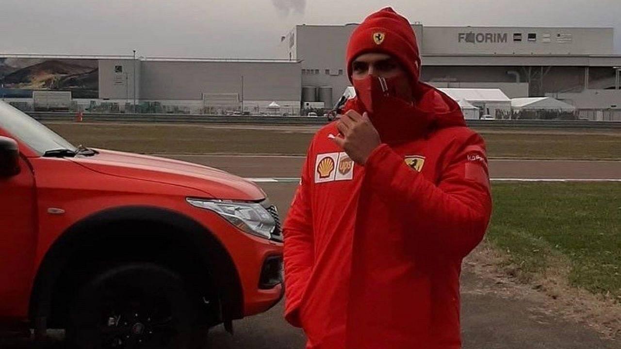 Carlos Sainz responds to heartfelt public letter by Ferrari fan describing special moment at Fiorano