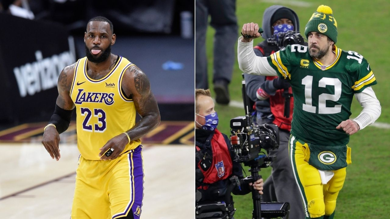 """""""Aaron Rodgers is LeBron James"""": Skip Bayless questionably compares Packers legend to Lakers star in the wake of James's 46 point outing against Cavs"""