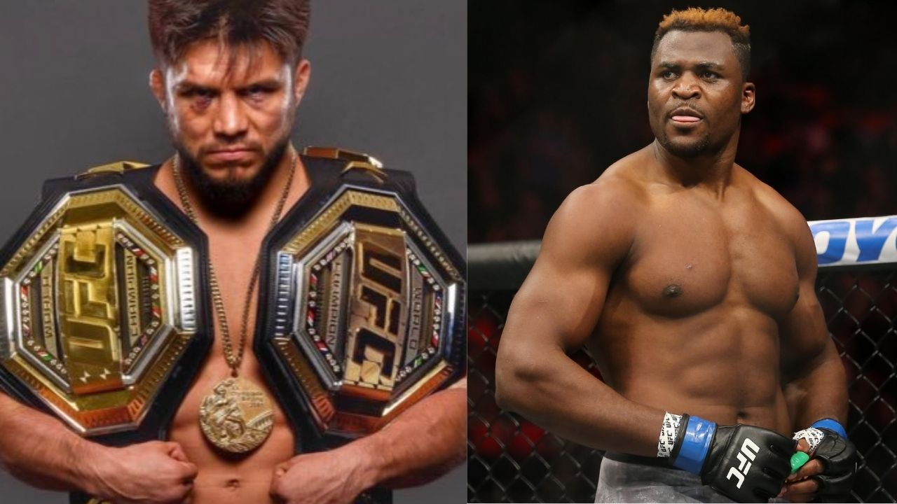 """""""Yo Francis Ngannouyou ready to bend the knee?"""": Henry Cejudo shows what a face-off with Francis Ngannou would look like"""