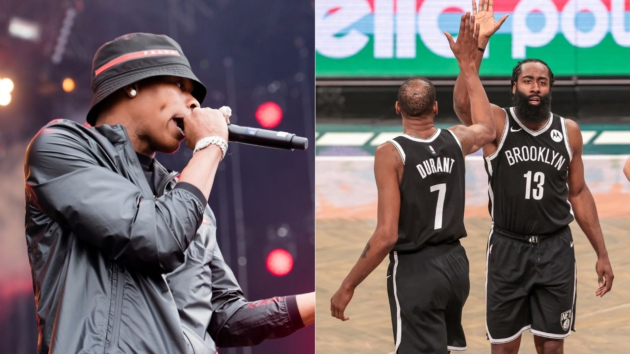 """""""Lil Baby and Drake recorded songs at James Harden's studio"""": 'Drip Too Hard' hitmaker from Atlanta teases new music release straight from Nets star's crib"""