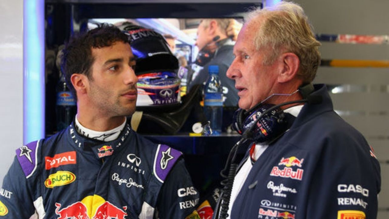 """""""Helmut has become a little softer in recent years""""- Daniel Ricciardo on his former boss at Red Bull"""